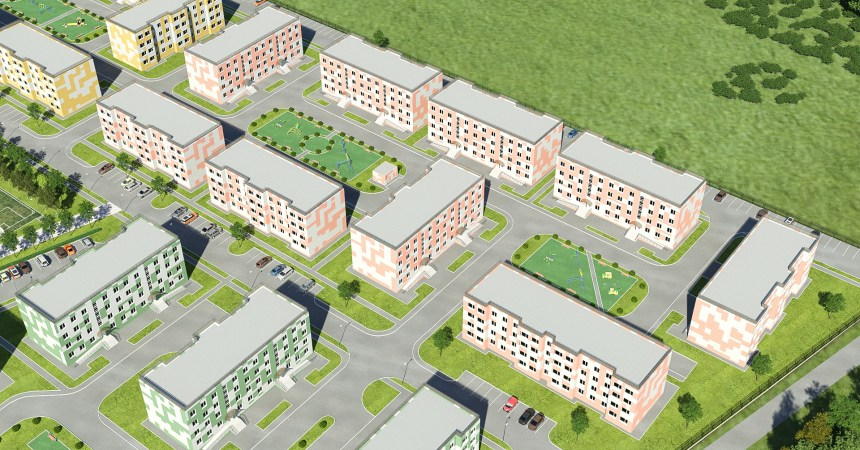 Ход строительства ЖК Роза Ветров