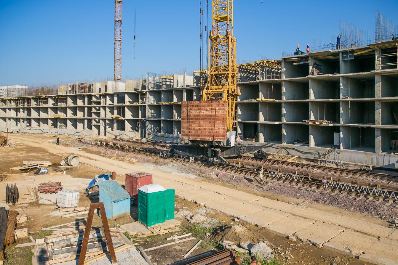 Ход строительства ЖК Озерный