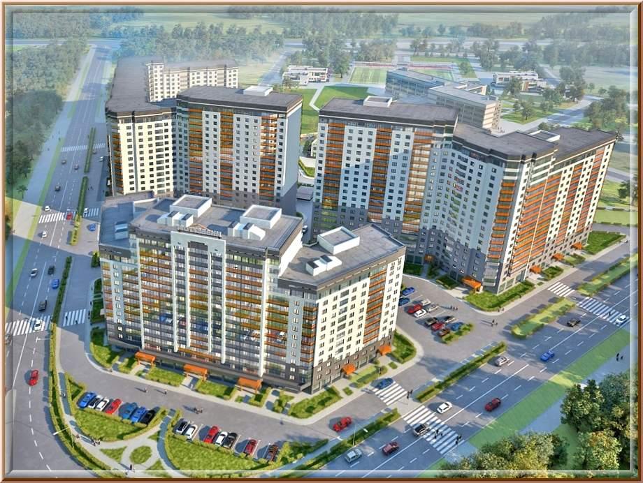 Квартиры в Кудрово от застройщика, купить квартиру в